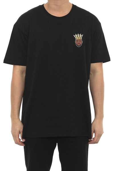 King Lebron Mini Head Tee Black