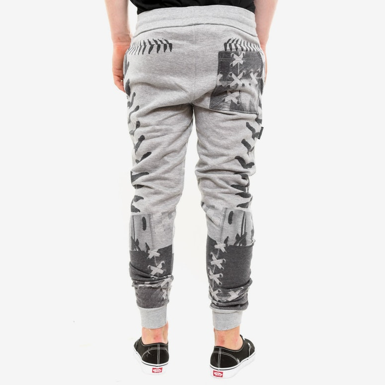 Sublimated Pants Heather Grey/bl