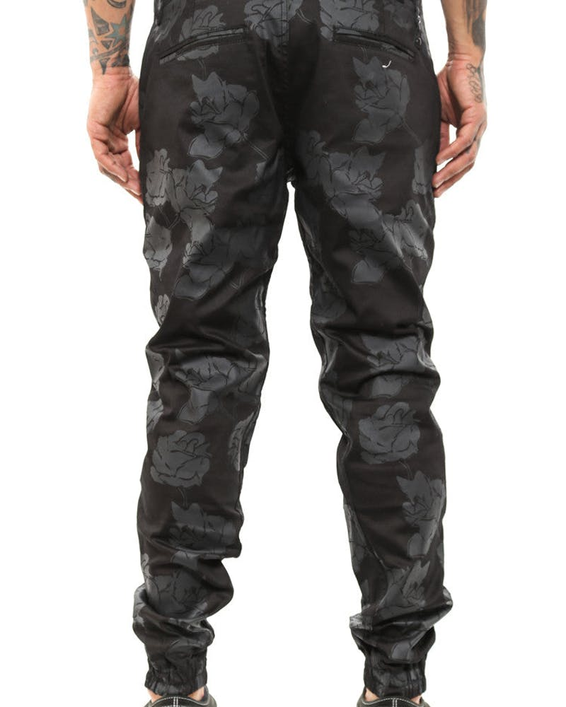 Arion Jogger Pant Black/floral