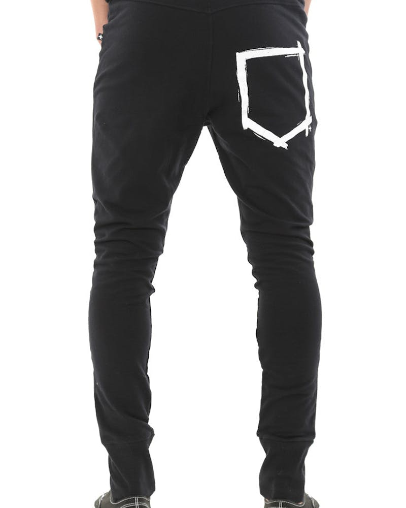Heavy Metal Trackies Black