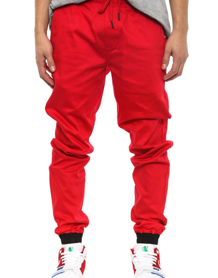 Otto Jogger Pant Red/black