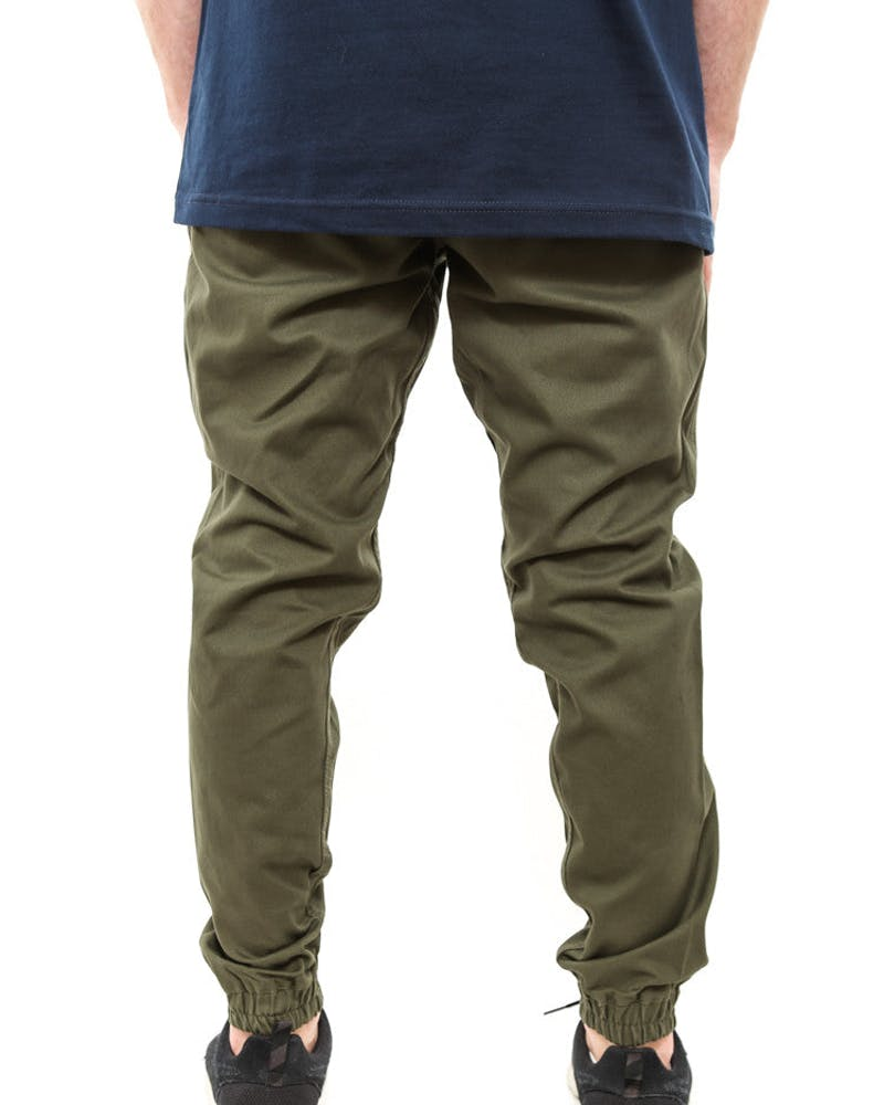 Jogger Pant 2 Olive/brown
