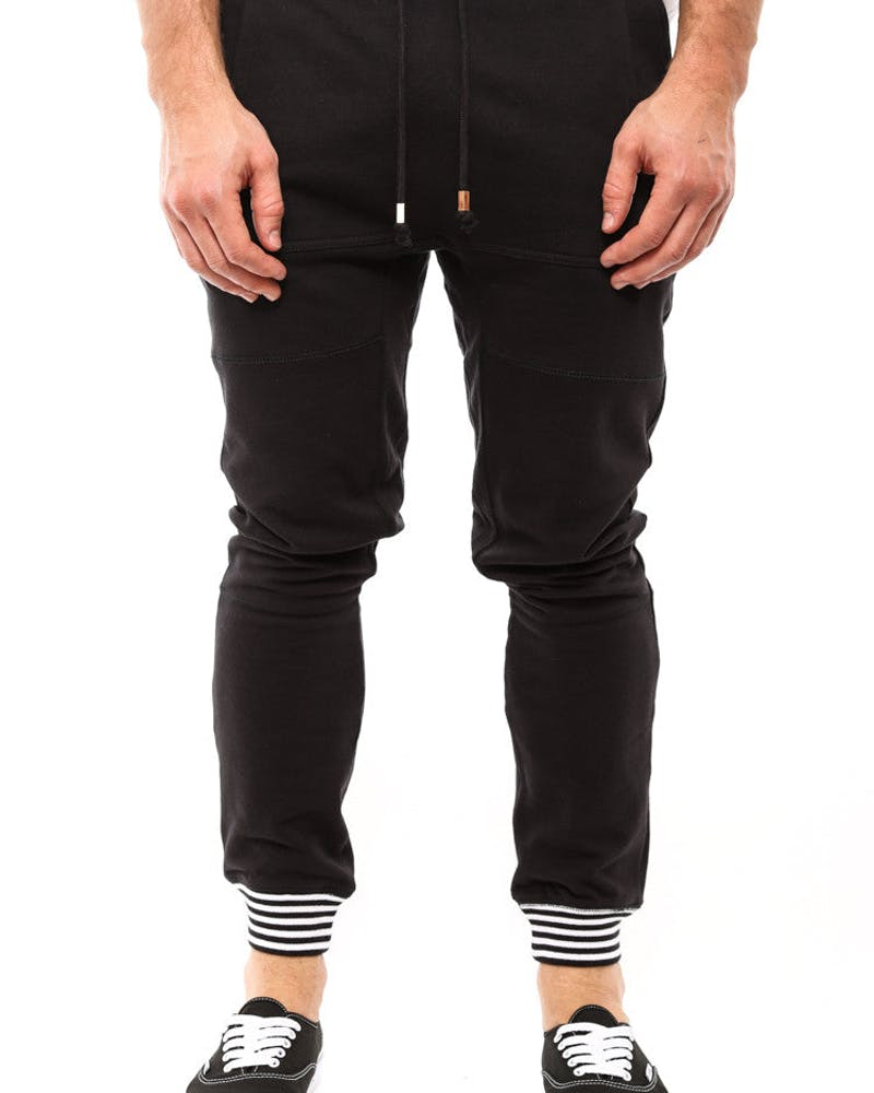 Aura Pocket Pants Black