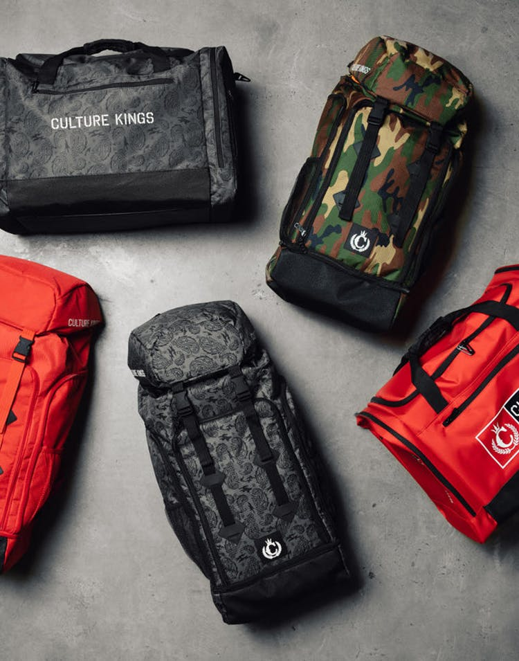 Choose Between Red or Camo or Paisley M's Backpack