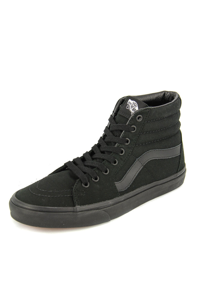 vans sk8hi black