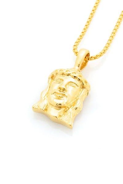5c69a075638 Micro Nazareth Pendant Gold ...