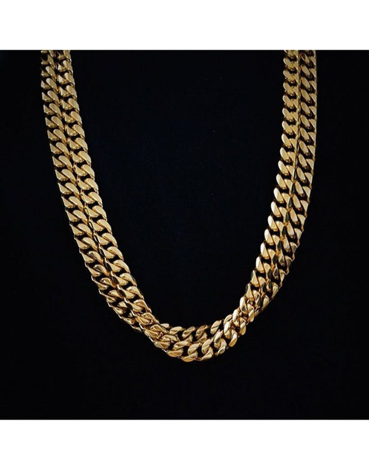 Cuban Thick Chain Gold