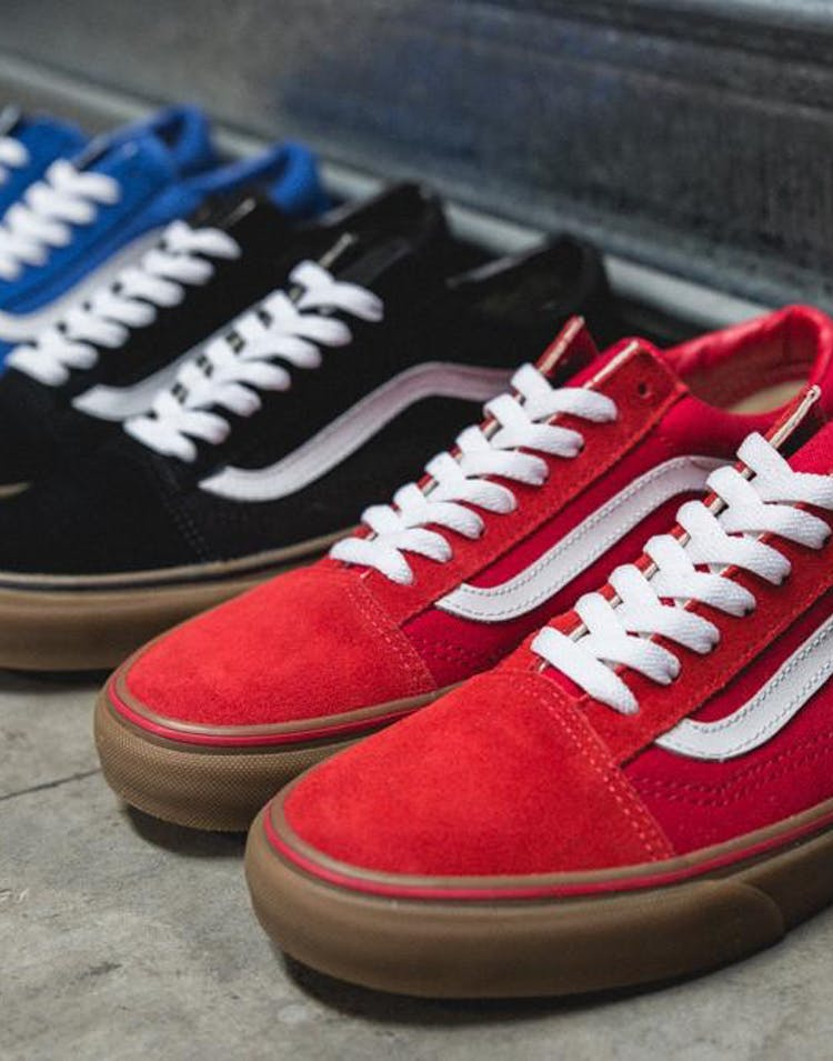 8da3fc4aea Vans Old Skool Gumsole Red – Culture Kings