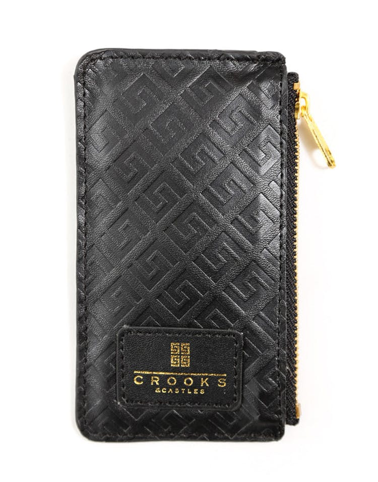 Thuxury Repeat Coin Pouch Black