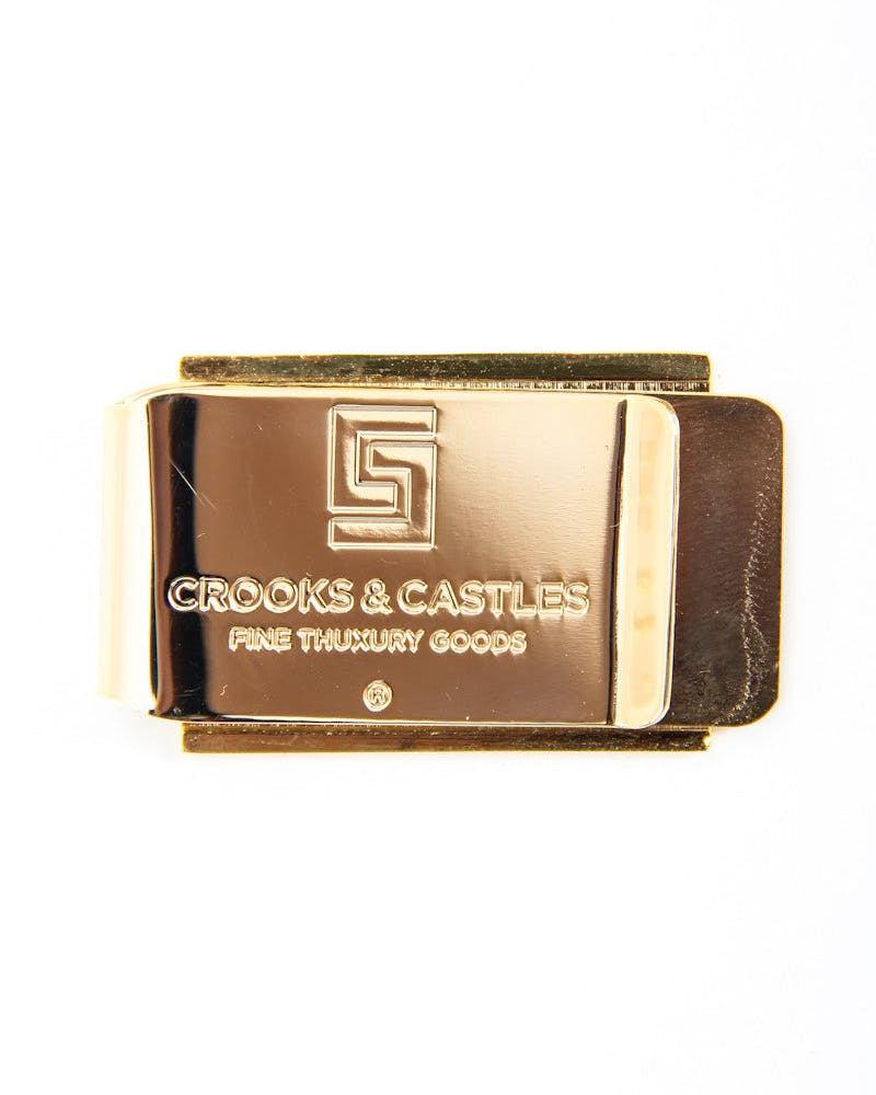 Thuxury Money Clip Gold