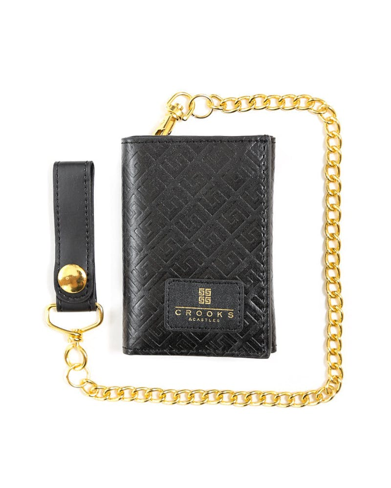 Thuxury Repeat Chain Wall Black