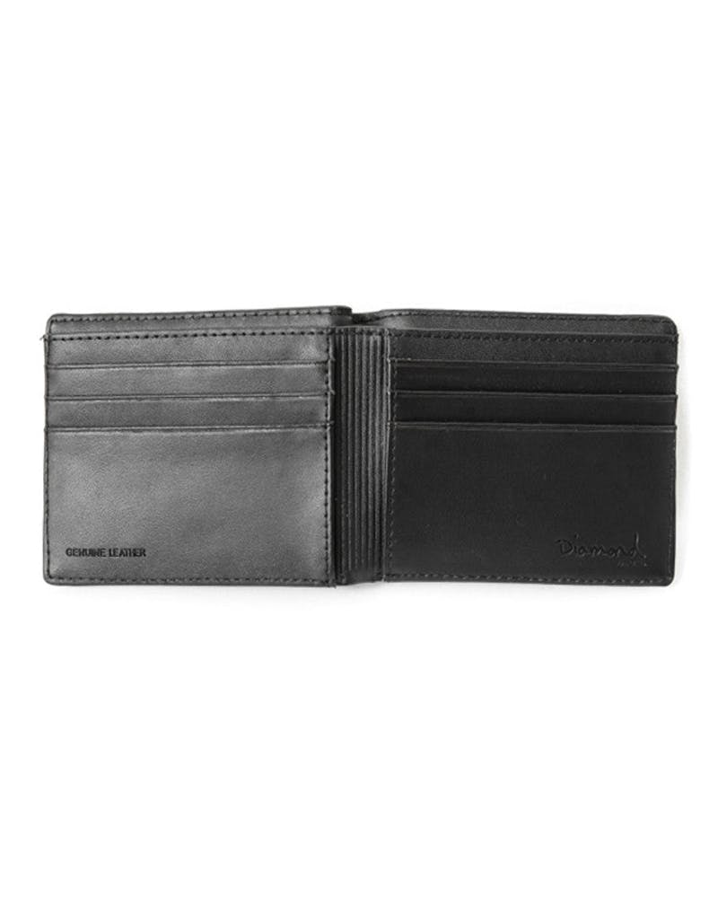 Bifold Crest Seal Wallet Black