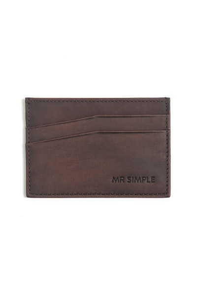 Tillman Card Holder Tan