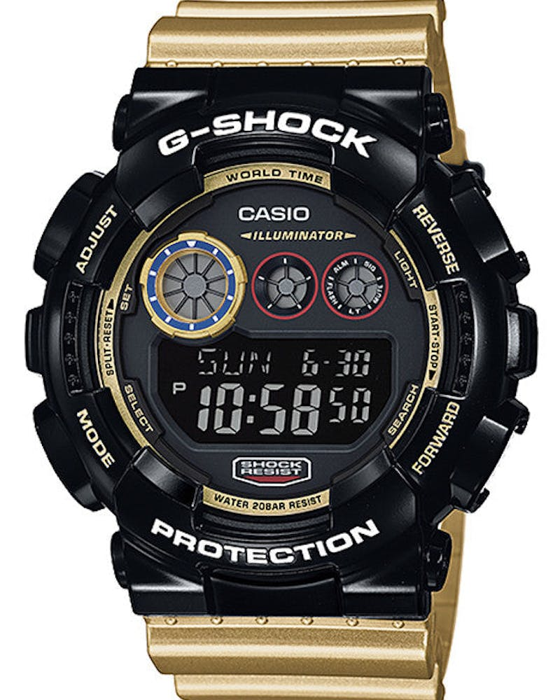 Gd120cs Digi Sport Series Black/gold