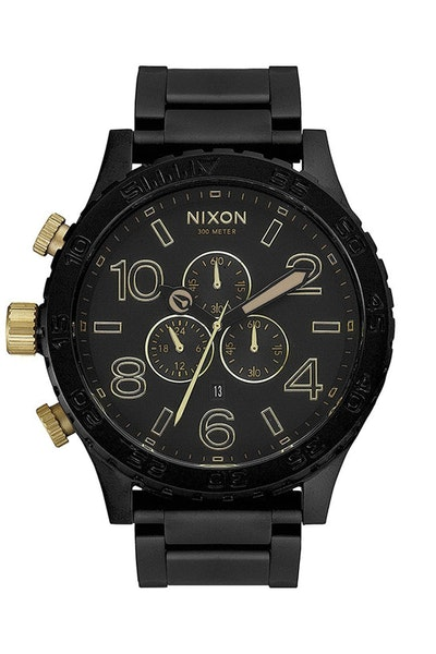 51-30 Chrono Matte Black/gol