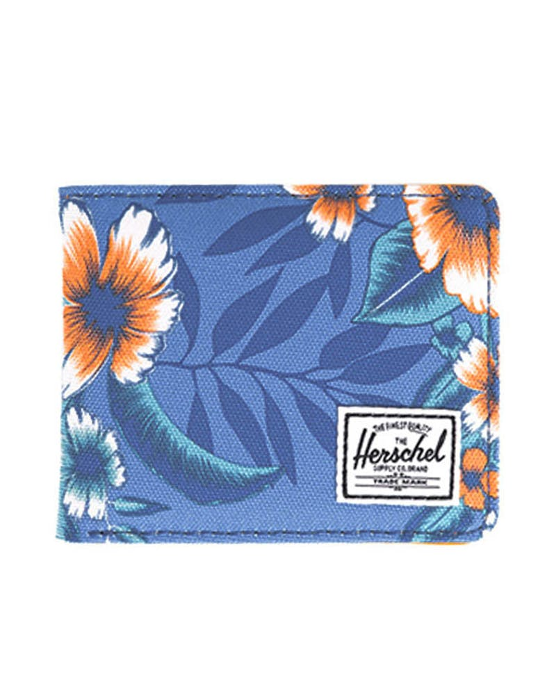 Hank Wallet Blue Floral