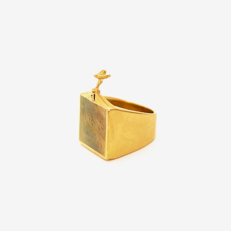 HC Grill Ring Gold